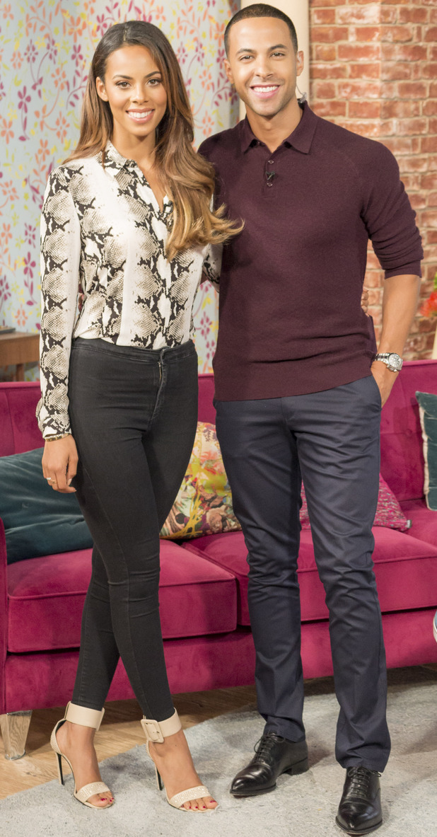 Rochelle and Marvin Humes present This Morning, ITV, London 15 August