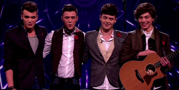 Union J on The X Factor 2012