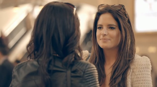 MIC: NYC Binky Felstead arrives in New York and is met by her sister Anna Louise Felstead, E4 10 August