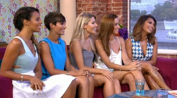 The Satudays appeared on This Morning, London 11 August