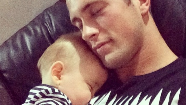 TOWIE's Dan Osborne posts more cute snaps with son Teddy, 16 August 2014