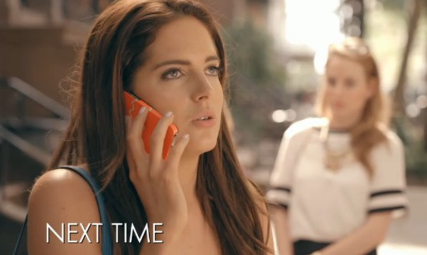 Binky Felstead isn't pleased to learn that her ex Alex Mytton is in New York. Made In Chelsea: New York episode airs Sunday 17 August 2014.