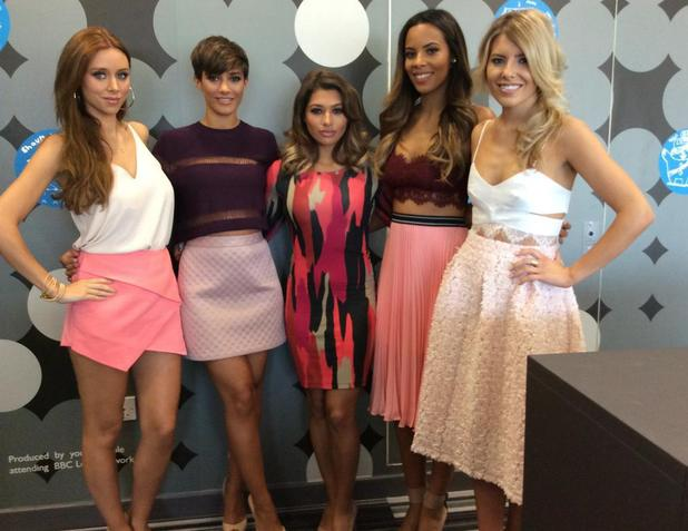 The Saturdays appear on BBC Breakfast (13 August).