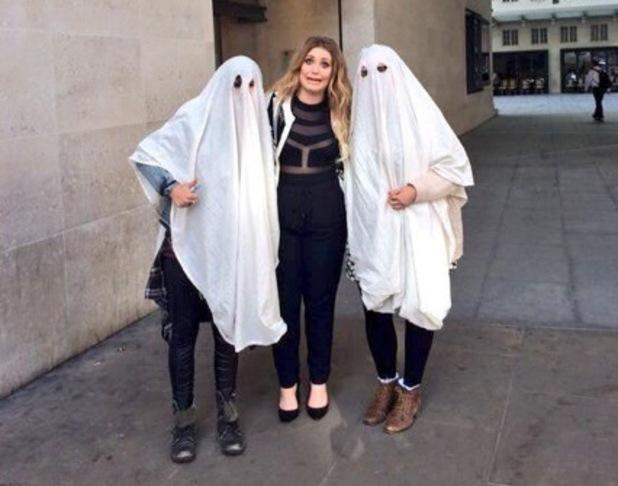 Ella Henderson is surprised by fans outside BBC Studios, London 12 August