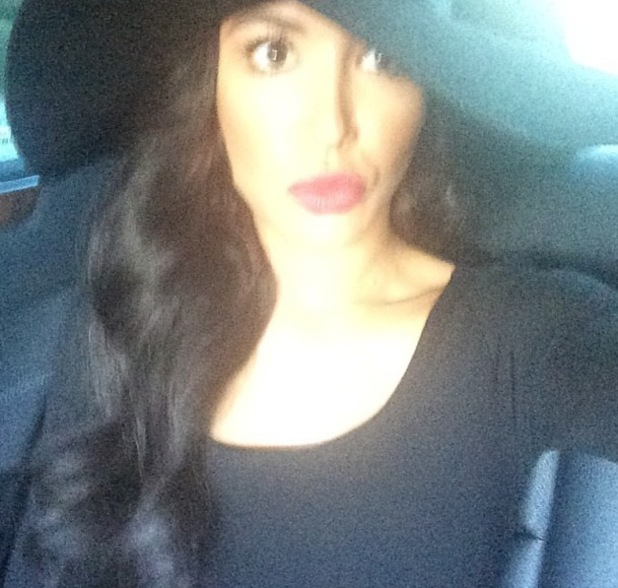 Naya Rivera posts selfie en route to Justin Timberlake concert, LA 12 August