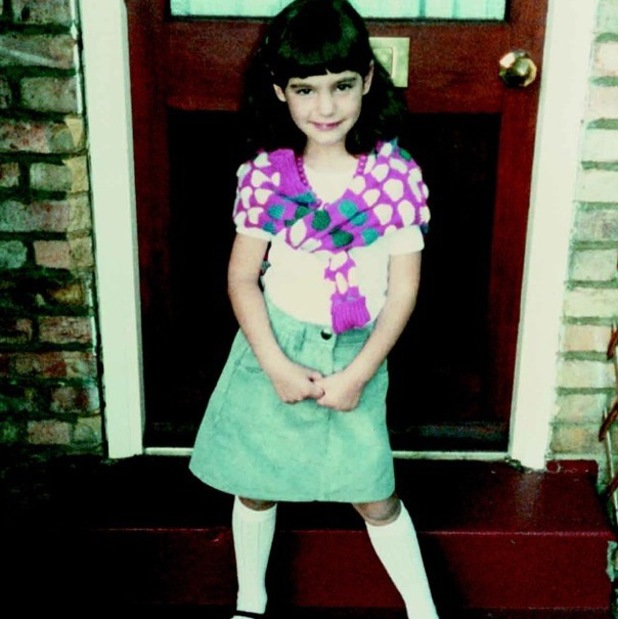 Kelly Brook shares childhood photo of herself, Instagram 14 August