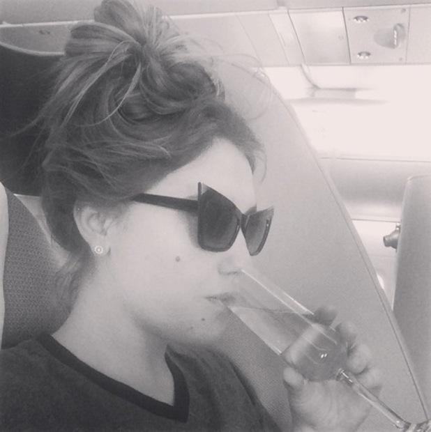 Ella Henderson heads to Australia and celebrates 'Ghost' going platinum, Instagram 15 August
