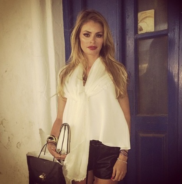 Chloe Sims on holiday in Mykonos, Instagram 13 August