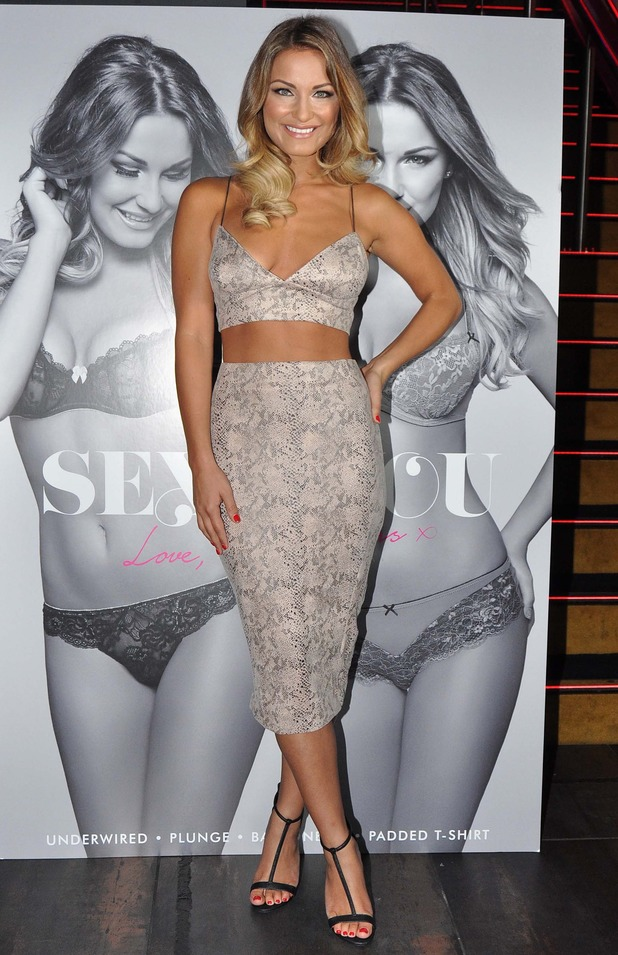 Sam Faiers promotes the Ann Summers 'Sexy For You' collection at The Wright Venue in Dublin, Ireland - 14 August 2014