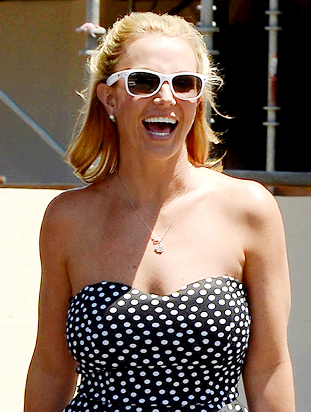 Britney Spears and David Lucado out and about, Thousand Oaks, California, America - 13 Aug 2014