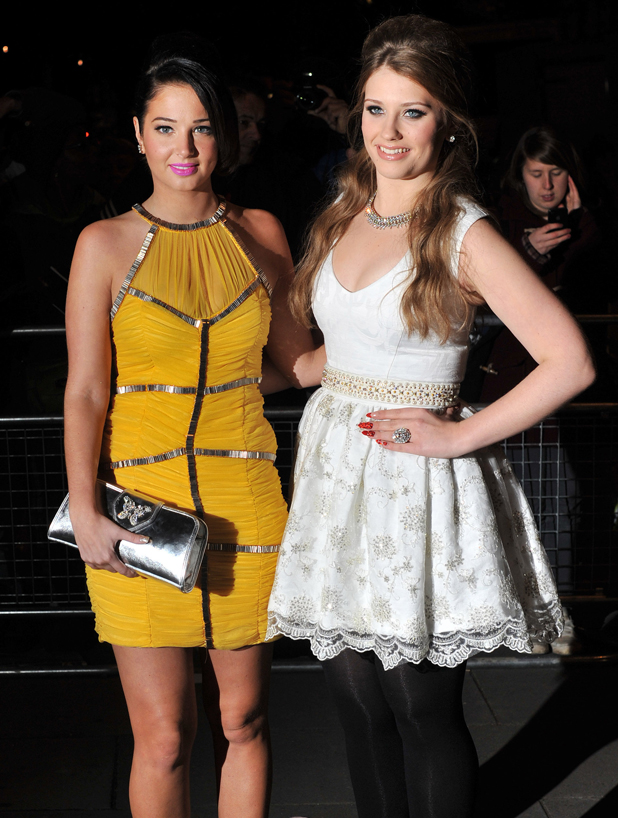 Tulisa Contostavlos and Ella Henderson, Cosmopolitan Ultimate Women Of The Year Awards held at the Victoria and Albert Museum - Arrivals London, England - 30.10.12