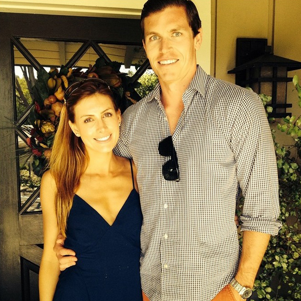 Jennifer Bunney shares picture of herself and husband Taylor Dunphy ahead of their honeymoon, 11 August 2014