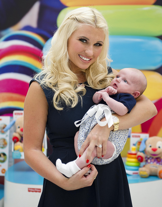 Billie Faiers And Daughter