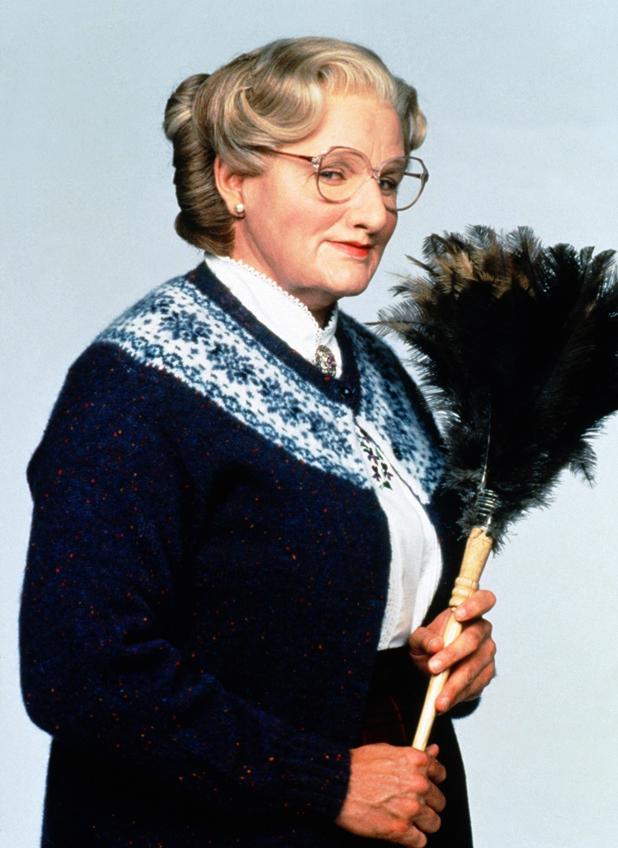 Robin Williams, as Daniel Hillard / Mrs. Euphegenia Doubtfire Mrs. Doubtfire (1993) Directed by Chris Columbus