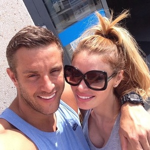 Elliott Wright is joined by Chloe Sims out in Spain, Instagram 19 August