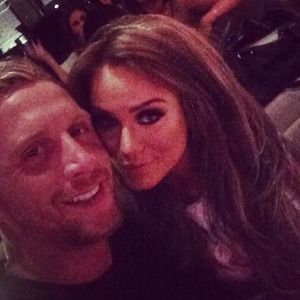 Vicky Pattison enjoys date night with boyfriend James Morgan, 19 August 2014