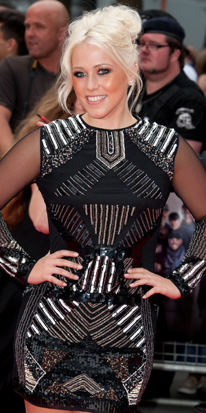 Amelia Lily attends The Expendables 3 - UK film premiere, Leicester Square, London 8 August