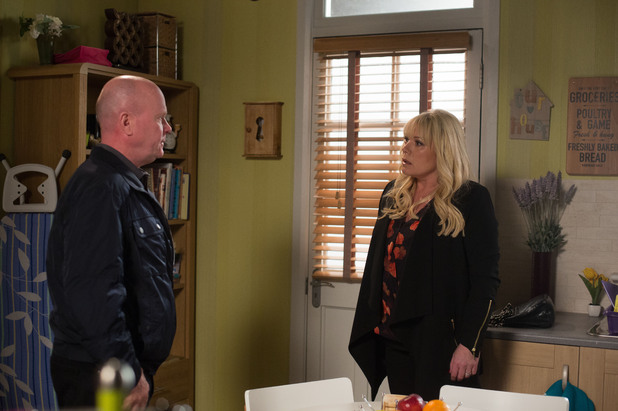 EastEnders, Sharon confronts Phil, Mon 25 Aug