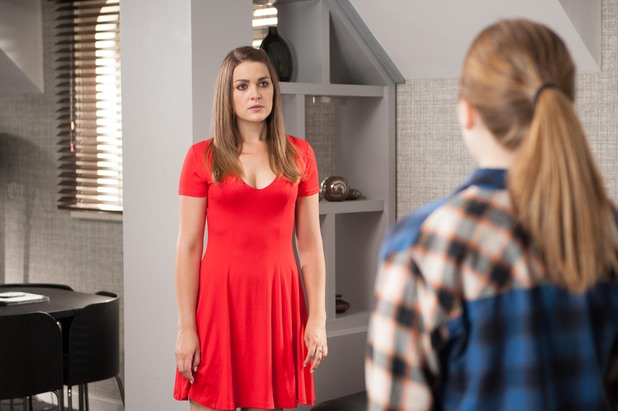 Hollyoaks, Nico finds out Sienna lied, Tue 26 Aug