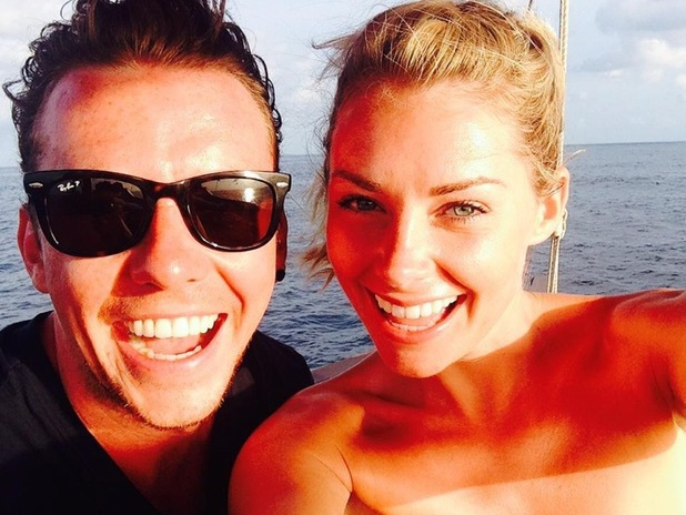 Danny Jones and wife Georgia Horsley head to Dubai to finish off honeymoon, Twitter 19 August