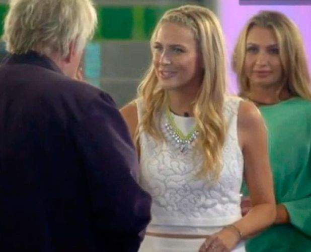 'Celebrity Big Brother' TV show, Elstree Studios, Hertfordshire, Britain - 18 Aug 2014 Gary Busey and Stephanie Pratt 18 Aug 2014