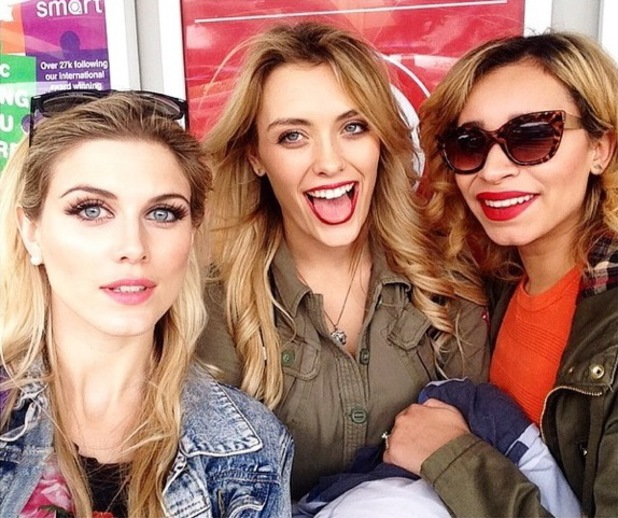 Ashley James attends V Festival in Hylands Park, Chelmsford, Essex - 17 August 2014