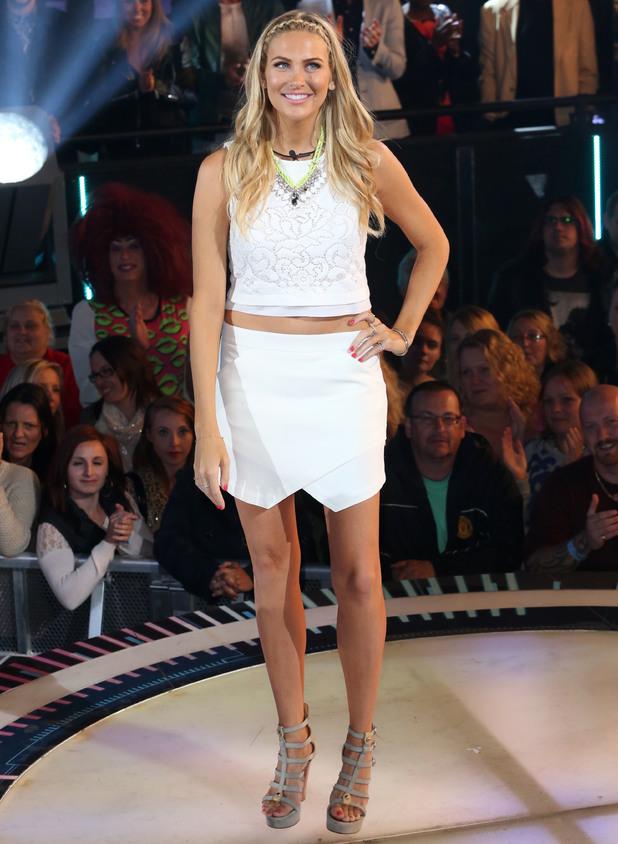 Stephanie Pratt, Celebrity Big Brother 2014 - Arrivals, 18 August 2014