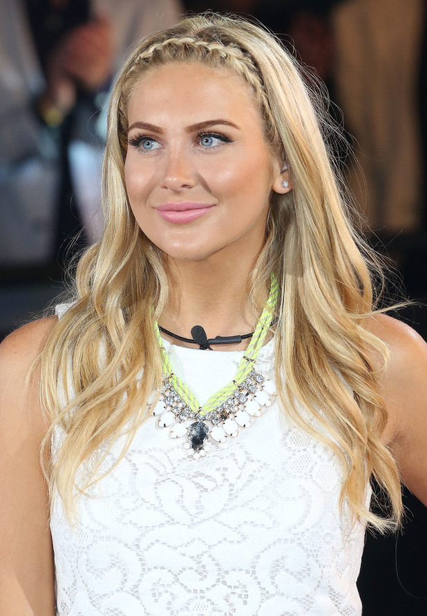 Stephanie Pratt enters the Celebrity Big Brother house - London, England - 18 August 2014