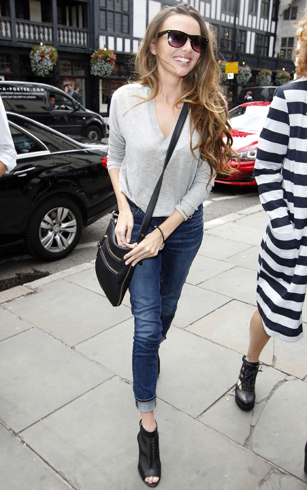 Nadine Coyle out and about in London, Britain - 19 Aug 2014