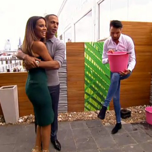 Rochelle and Marvin Humes do the ALS ice bucket challenge on live TV, This Morning, 22 August 2014