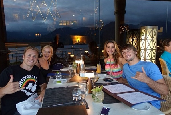 Spencer and Heidi double date