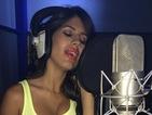 Jasmin Walia hints at music career as she hits the studio - photo!