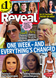 Reveal cover issue 34, on sale 26 August 2014