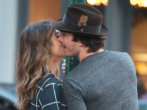 Ian Somerhalder, Nikki Reed's PDA outing in New York!