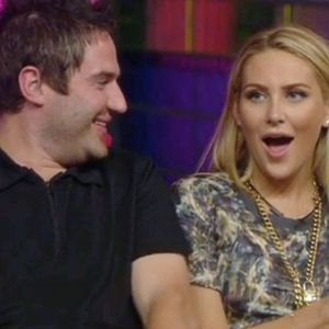 Stephanie Pratt and George Gilbey, Celebrity Big Brother, Channel 5 22 August