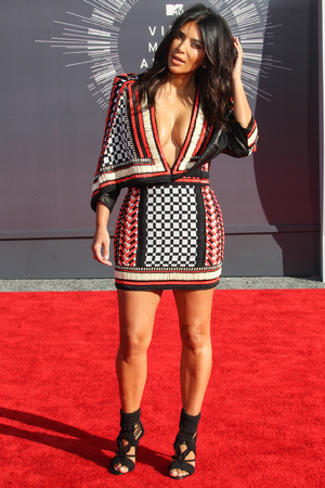 Kim Kardashian attends the 2014 MTV Video Music Awards at The Forum, 24 August 2014