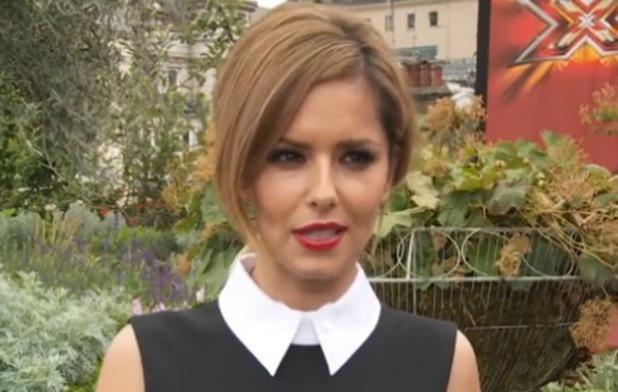 Chery Fernandez-Versinin plays Snog, Marry, Avoid at X Factor press launch, London 27 August