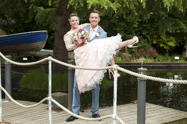 Hollyoaks, Darren and Nancy get married, Fri 28 Aug