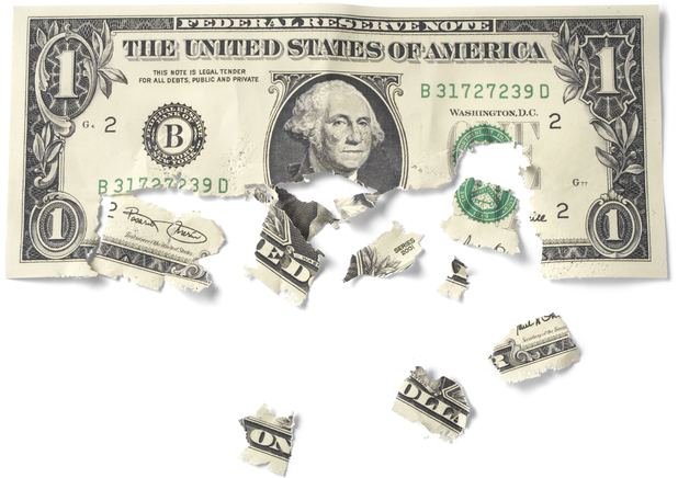 Decaying cash note