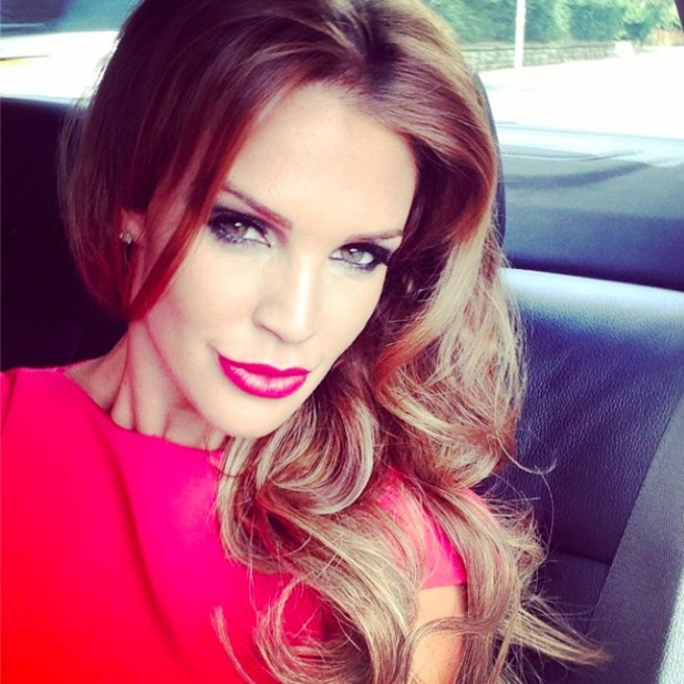 Danielle O'Hara looks stunning on way to wedding in Instagram shot, 24 August