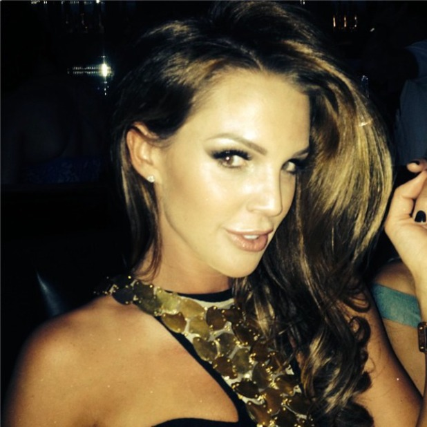 Danielle O'Hara looks stunning on a night out, 30 August 2014