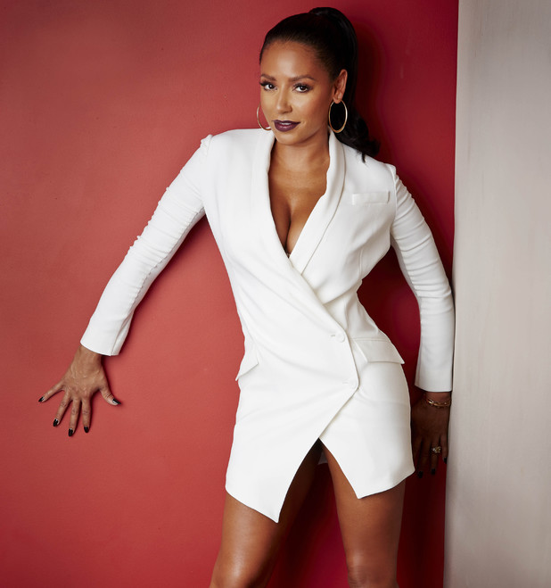 Mel B, The X Factor photocall, ITV 26 August
