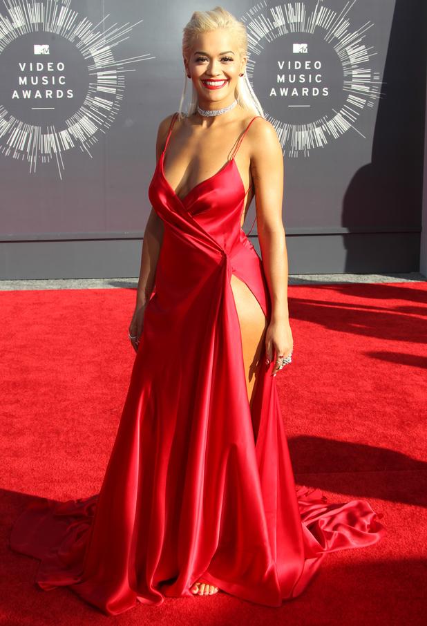 Rita Ora, 2014 MTV Video Music Awards at The Forum, 24 August 2014