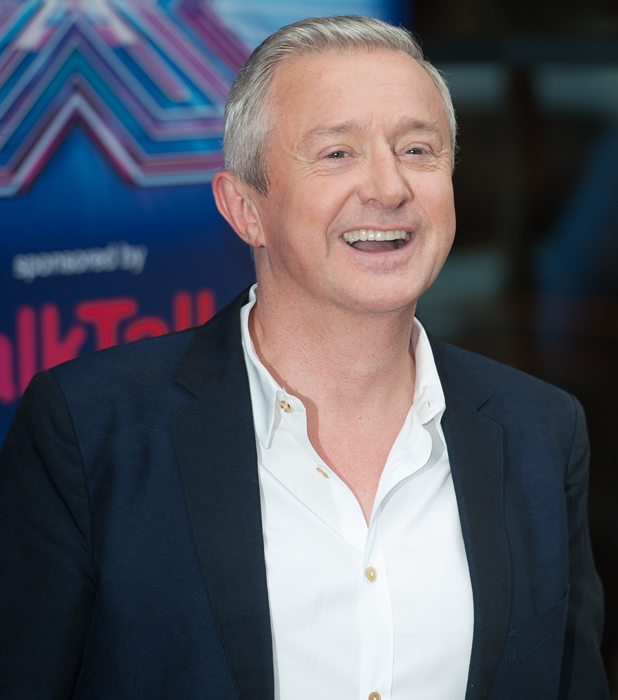 Louis Walsh at X Factor Press Launch held at the Ham Yard Hotel - Arrivals, 27 August 2014