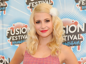 Pixie Lott sports adorable gingham two-piece ahead of Strictly debut