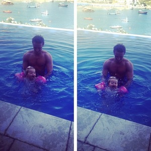 Imogen Thomas shares cute pictures of Adam Horsley and Ariana Siena on holiday in Sicily, Italy, 2 September 2014