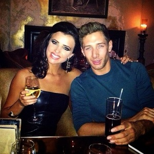 Lucy Mecklenburgh and Tumble partner Billy Jacques, Instagram 31 August