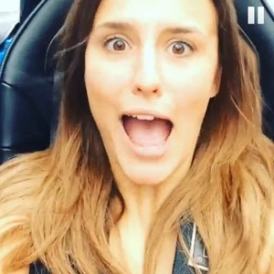 Lucy Watson takes a drive with Spencer Matthews, London 4 September