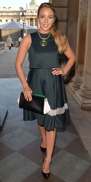 Lydia Bright steps out at Somerset House in London, England - 3 September 2014