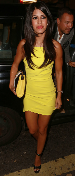 Jasmin Walia attends the InTheStyle.co.uk party in London, England - 4 September 2014
